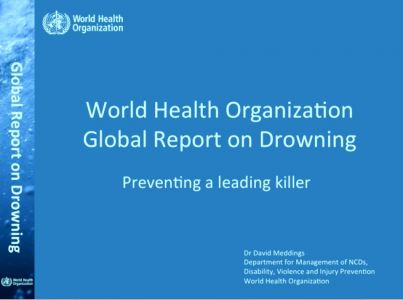 World Health Organization - Global report on drowning