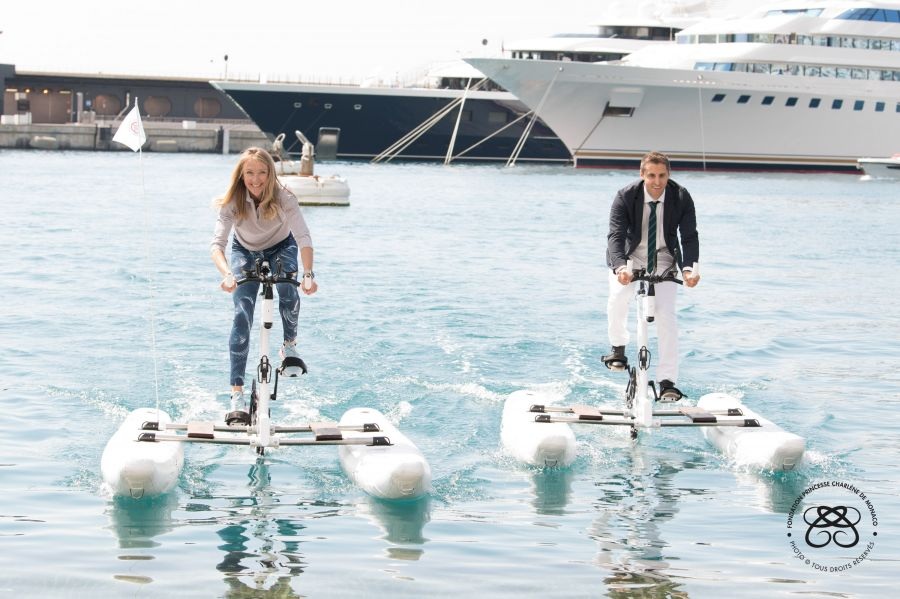 Two American Athletes to Compete in the 2018 Riviera Water Bike Challenge on June 17, 2018, in Monaco