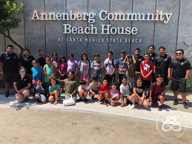 PCMF USA and the Annenberg Foundation Partner with the YMCA of Orange County for Field Trips to Santa Monica