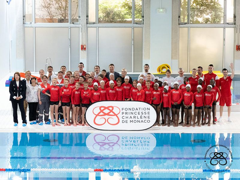 Young Rugby Players from the USA Participate in Drowning prevention workshops in Monaco