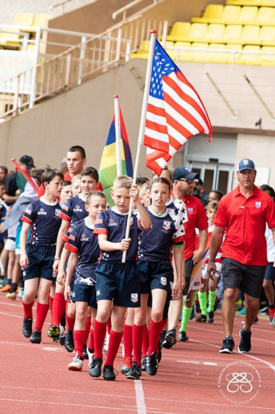 Team from the USA Participates in Monaco's Sainte Devote Rugby Tournament